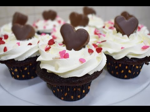 Easy recipe Mocha Chocolate Cupcakes for Mother's Day!