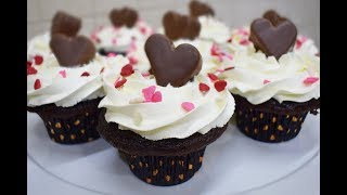 Easy recipe Mocha Chocolate Cupcakes for Mother