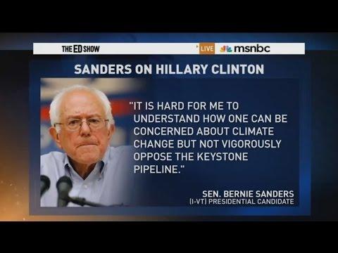 Sanders vs Clinton on the Keystone Pipeline July 28, 2015