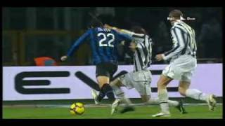JUVENTUS-INTER 2-1 RISSE IN CAMPO E MOVIOLA  15° GIORNATA 05/12/09
