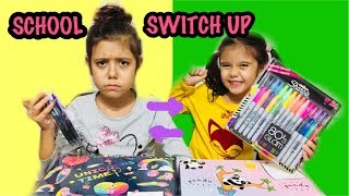 OKULA DÖNÜŞ CHALLENGE !! Back To School Switch Up Challenge #woohoobox #BackToSchool #Challenge
