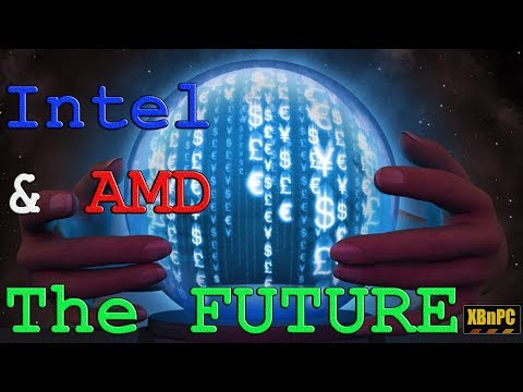 Intel vs AMD - The Future!! 10nm vs 7nm - Coffee Lake vs Cannon Lake vs Zen 2 & 3 - AM4+ TR4+ & More