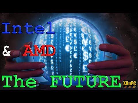 Intel vs AMD - The Future!! 10nm vs 7nm - Coffee Lake vs Cannon Lake vs Zen 2 & 3 - AM4+ TR4+ & More