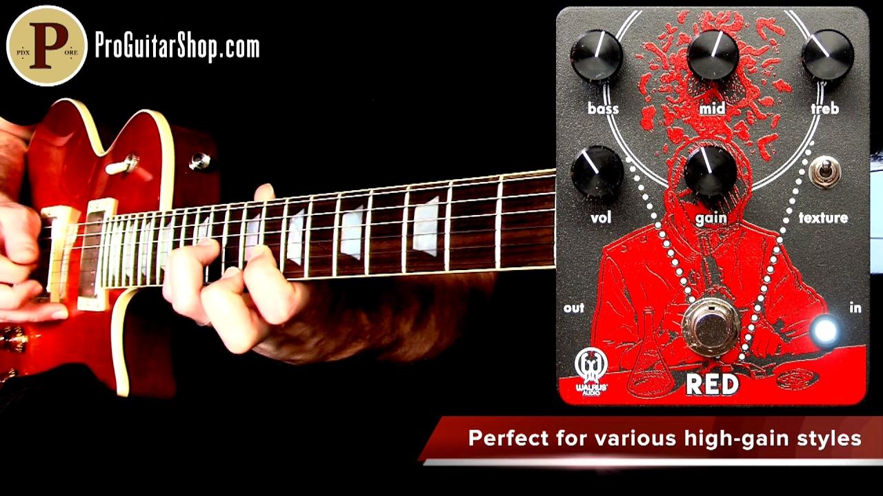 Walrus Audio RED High Gain Distortion Pedal