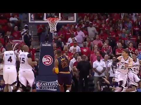 LeBron James Scares the Sh*t out of Kyle Korver