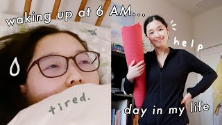 """i tried to have my """"ultimate"""" productive day (waking up at 6 AM)"""