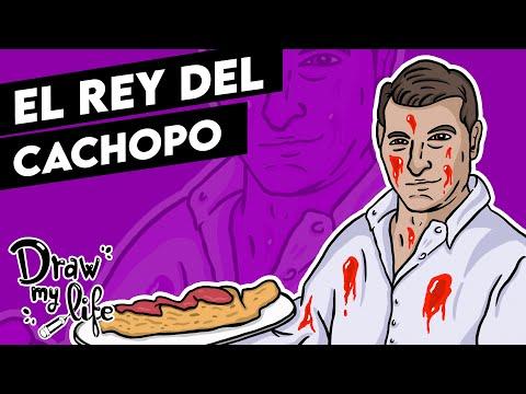 ¿QUIÉN ES el REY DEL CACHOPO? 🔪    Draw My Life en Español