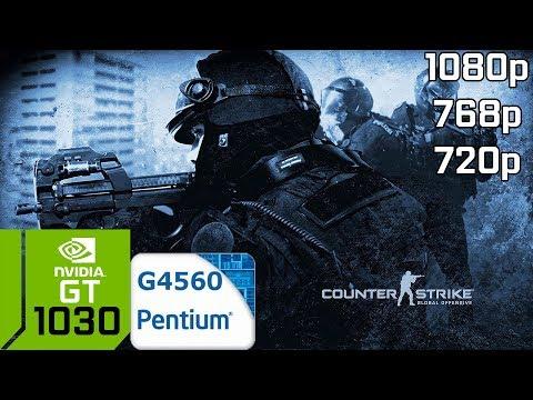 CS GO [PC] GT 1030 2GB GDDR5 & Intel Pentium G4560 & 8GB RAM