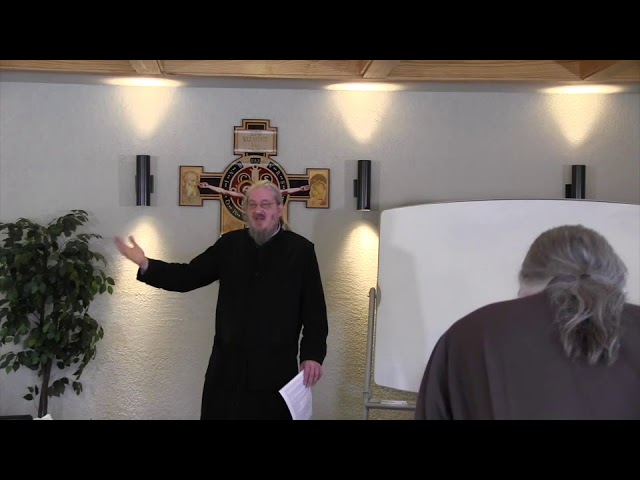 Fr John Behr LPH 2019 Advent Retreat 06 Earth that Suffers