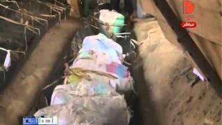 تهريب المواد الغذائية عبر الانفاق الى غزة