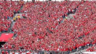 WISCONSIN JUMP AROUND in student section at Camp Randall, Madison thumbnail