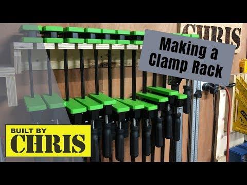 Making a Clamp Rack