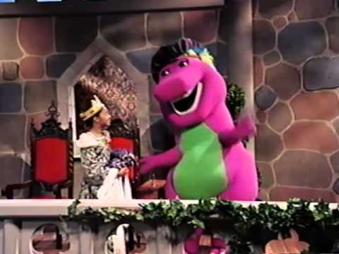 Opening to Barney Waiting for Santa 1996 VHS - YouTube