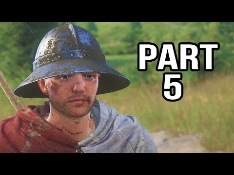 Kingdom Come Deliverance Gameplay Walkthrough Part 5 - CSI Bohemia