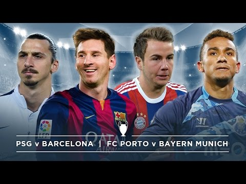 PSG v BARCELONA, PORTO v BAYERN MUNICH | #FDW UCL PREVIEW