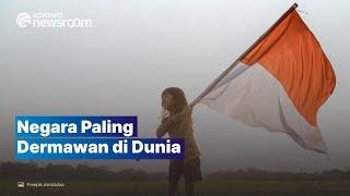 Indonesia Bertahan jadi Negara Paling Dermawan di Dunia