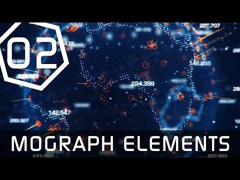Earth Hologram Tutorial Part 2 - Mograph Elements - Cinema 4D