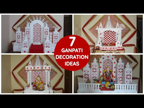 Ganpati Decoration Ideas For Home 7 Simple Ideas Thermocol Cardboard Designs Ganesh Decoration Youtube,Simple 3 Bedroom House Plans With Photos