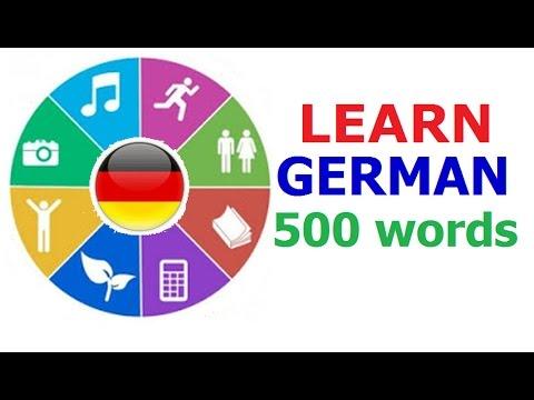 Learn German (Vocabulary)