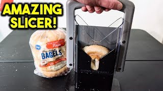 AMAZING Bread Gadget Test - Bread Slicer Breakfast Gadget