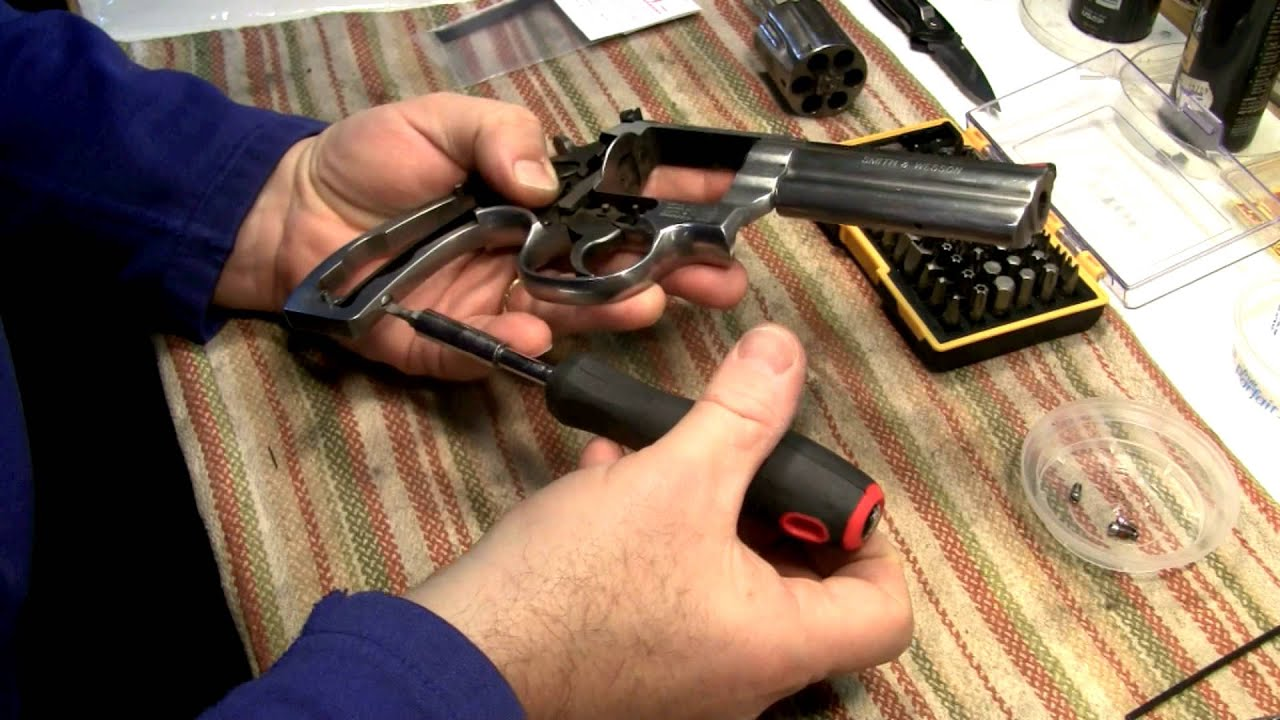 Smith And Wesson 686 Trigger Job Changing The Springs
