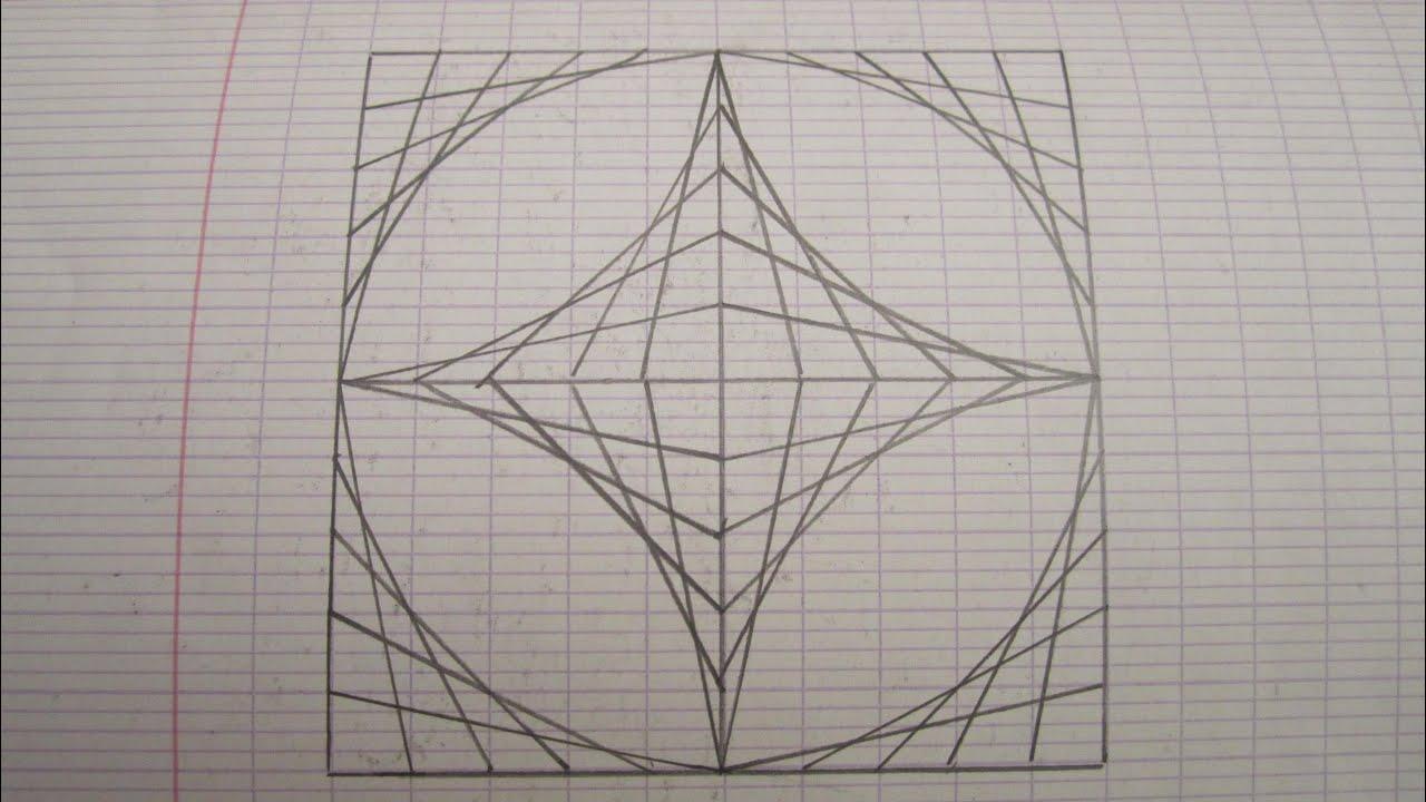Dessiner une illusion d 39 optique youtube - Illusion optique dessin ...