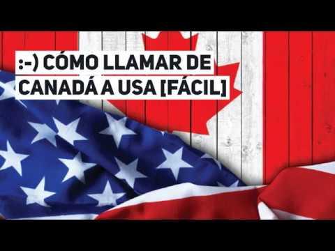 📞 Cómo Llamar De CANADÁ A USA [Fácil]