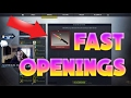 TOP 5 SPEEDRUN KNIFE UNBOXINGS EVER! *WITH REACTIONS*