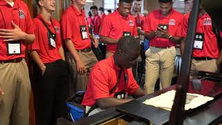 2021 Boys Nation senator brings participants together with music
