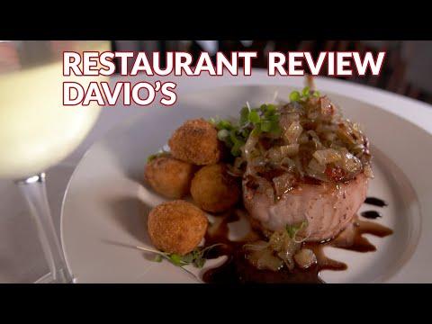 Restaurant Review -  Davio's Northern Italian Steakhouse   Atlanta Eats