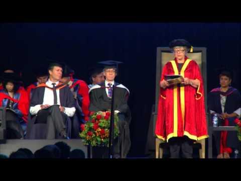La Trobe University Graduation Ceremony Dec 16th 2015 10AM