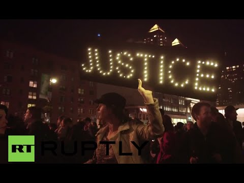LIVE: Londoners rally outside US embassy for 'justice for Mike Brown'