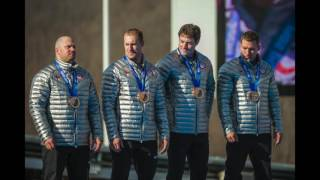 Former Olympian Steve Holcomb on where he stores his Olympic medals
