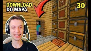 Minecraft: MANY NO HARDCORE #30 - DOWNLOA DO MAPA E PASSAGEM SUBTERRÂNEA
