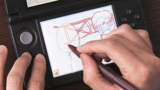 ニンテンドースタッフが教える うごくメモ帳 3D 描き方のキホン thumbnail