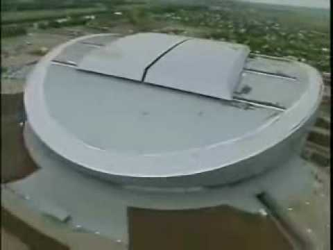 New Astana Stadium in Astana, Kazakhstan