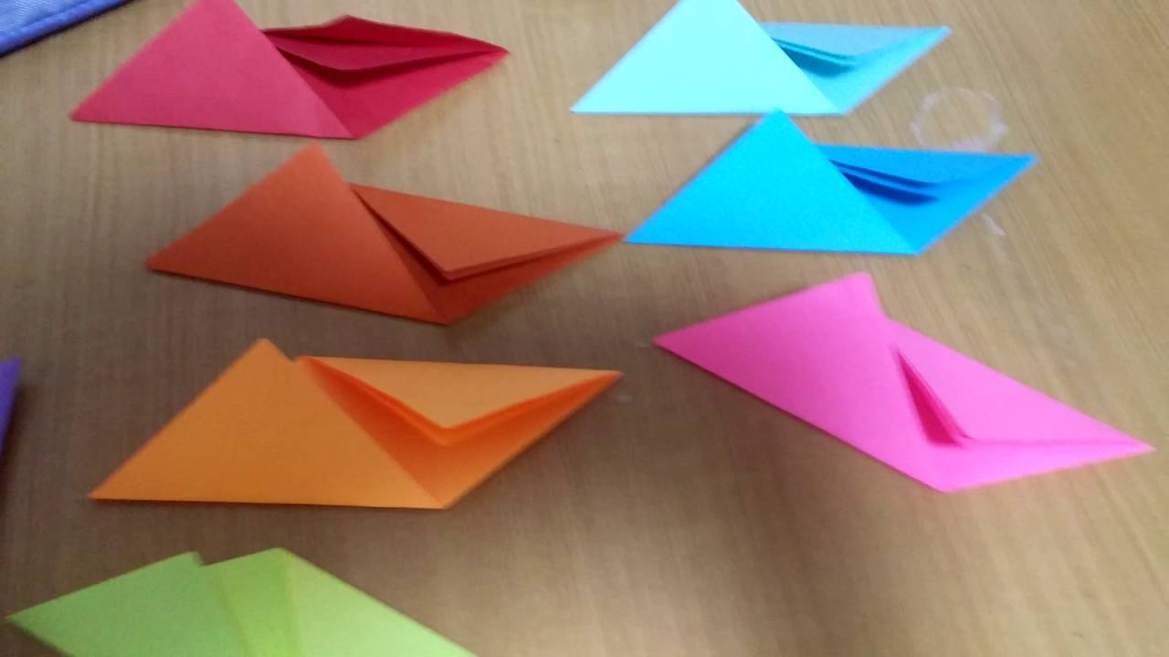 how to make a origami super cool rainbow flyer youtube
