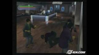 Jet Li: Rise to Honor PlayStation 2 Gameplay -