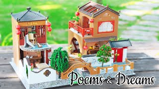 DIY Miniature Dollhouse Kit || Poems & Dreams - Miniature Land