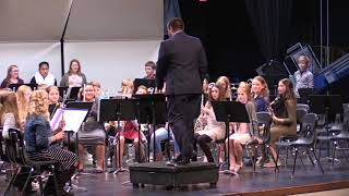 11.14.2017 Marshall Middle School Band Concert