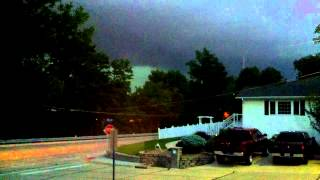 Incoming Storm St Charles, MO. May 31st, 2013 Timelapse footage.