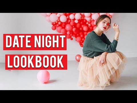 Flirty Date Night Outfits | Valentine's Day Lookbook