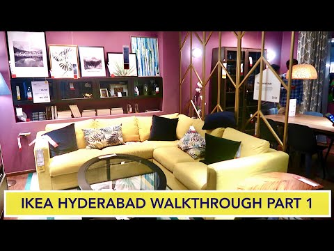 Ikea Home Furnishings Store Hyderabad 2nd Day Of Launch 1st