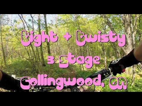 Mountain Biking: Tight & Twisty, 3 Stage, Collingwood, ON