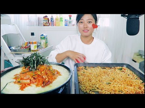 How to Enjoy Stir Fry Ramyun (ft. NongShim Neoguri) mukbang + Giveaway