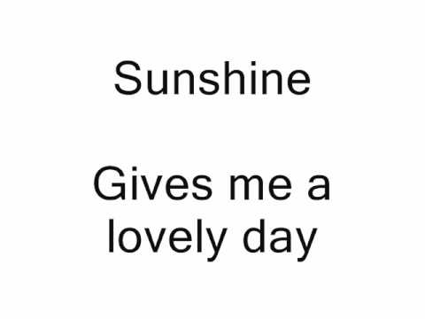 """""""I Got The Sun In The Morning"""" from Annie Get Your Gun karaoke/instrumental"""