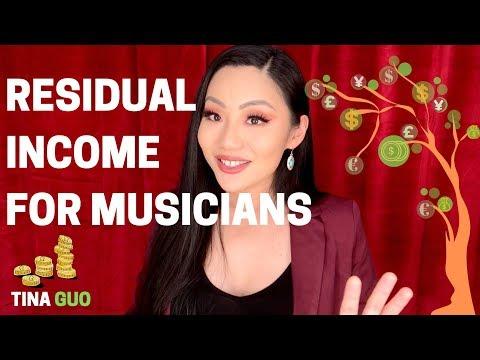 Top 5 Residual Income Ideas (for Musicians) - Tina Guo