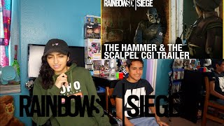 Rainbow Six Siege: The Hammer and the Scalpel | CGI Trailer | Ubisoft-REACTION