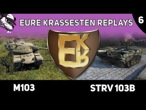 "Eure krassesten Replays ""EKR"" Folge #6 [World of Tanks - Gameplay - Deutsch] thumbnail"