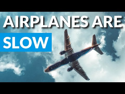 Jet Plane Speed Hoax: Airplanes Levitate SLOW, Slower Than Cars